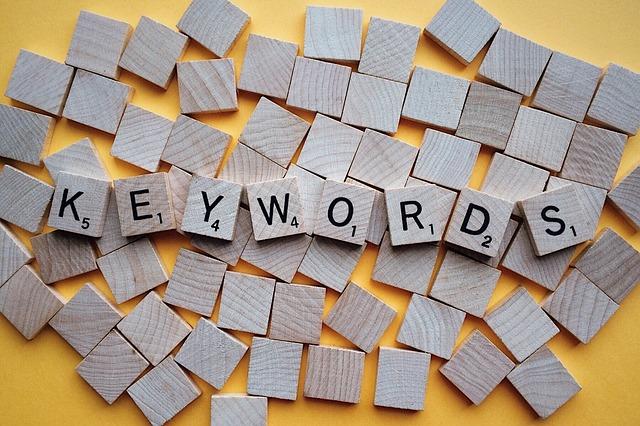 Promyšlený návrh klíčových slov zlepší vaše pozice