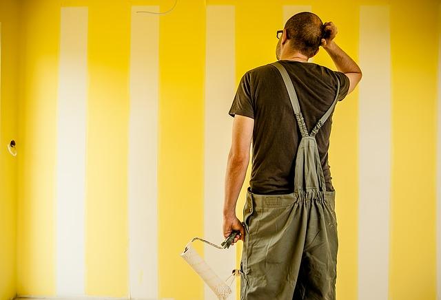 bezradný malíř