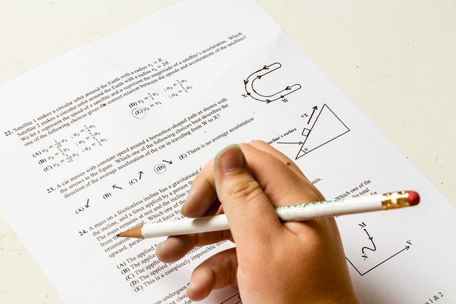 matematický test