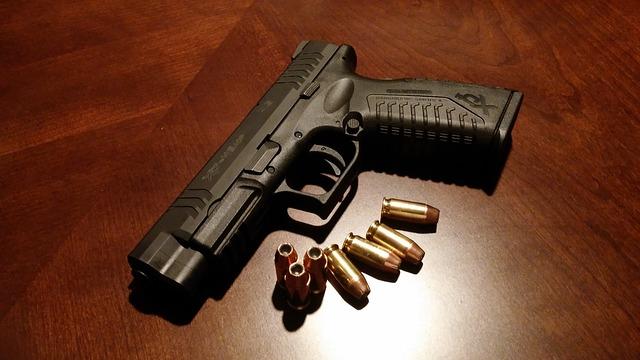 náboje u zbraně