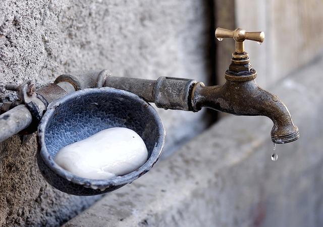 miska s mýdlem