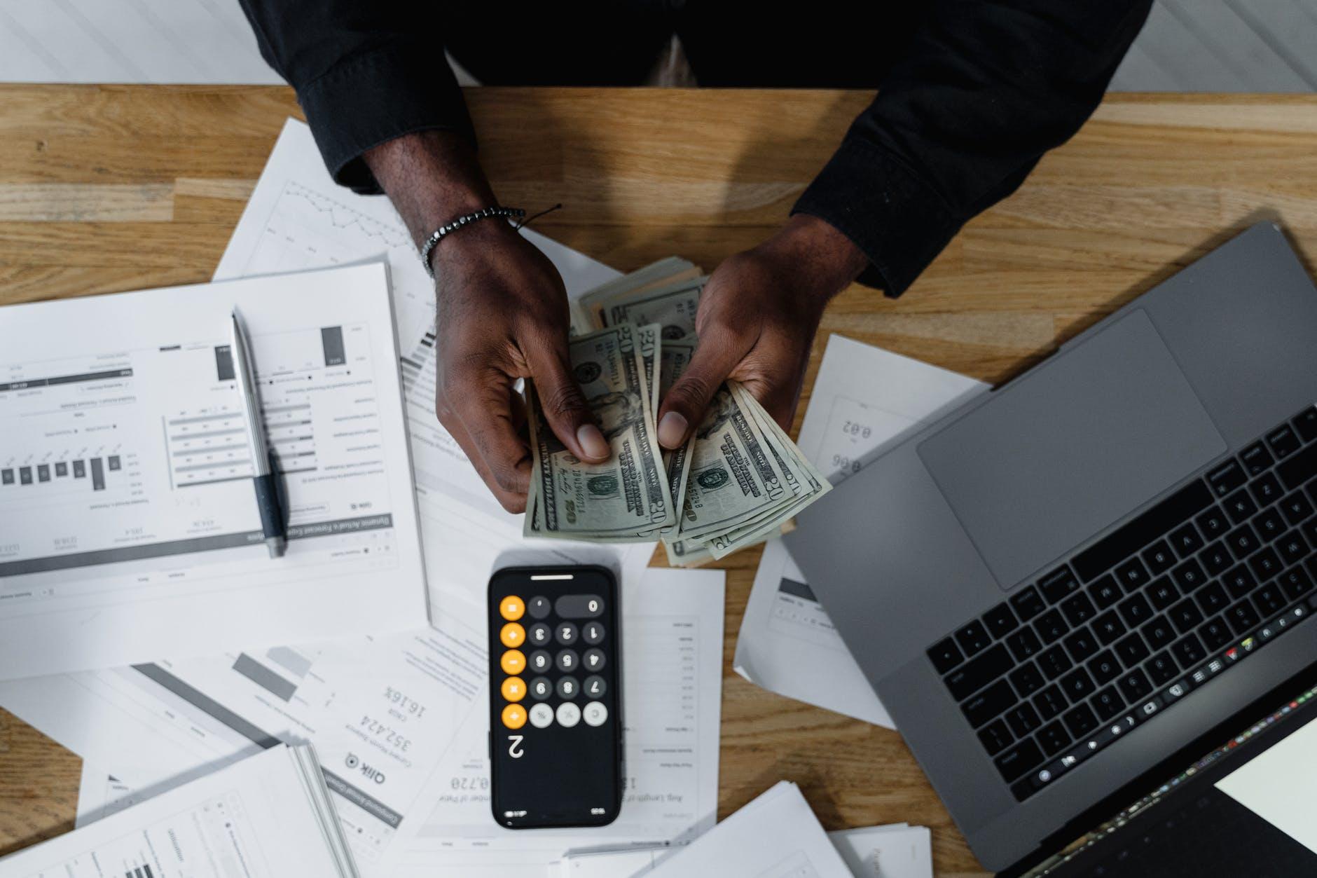 počítání finančního rozpočtu