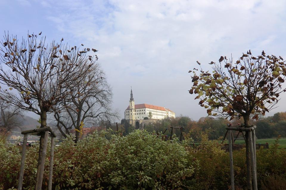 zámek v Děčíně